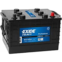 W633SE Exide Heavy Duty Commercial Professional Battery 12V 145Ah EG145A - ukpricecomparsion.eu