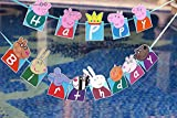 PARTY PROPZ PEPPA PIG HAPPY BIRTHDAY BAN...