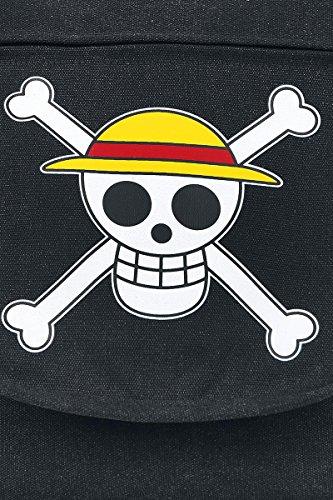 One Piece Skull Umhängetasche anthrazit anthrazit
