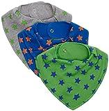 Pippi Baby - Jungen Lätzchen Gr. Einheitsgröße, Blau - Blau