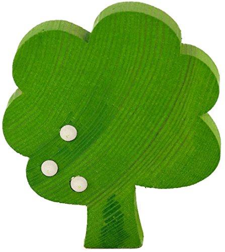 Sebastian design Baum mit Früchten für Holzkränze, Kranzfigur (hellgrün)