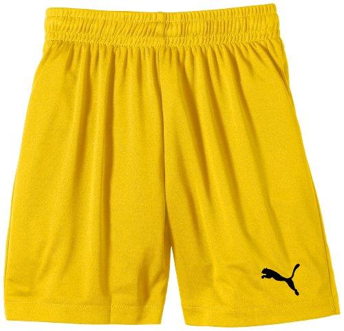 Puma Jungen Fußballshorts Velize, team yellow-black, 140, 701895 07 (Team Kurze)