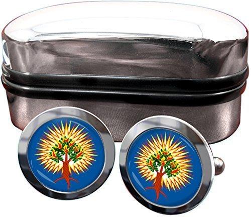 presbyterienne-combustion-bush-cadeau-hommes-boutons-de-manchette-gb