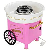 Godskitchen Vintage Collection Hard & Sugar-Free Candy Cotton Candy Maker,Cotton Candy Floss Maker