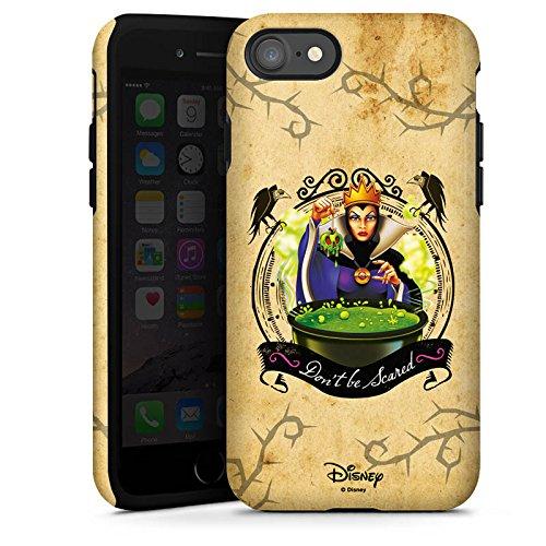 Apple iPhone 7 Plus Silikon Hülle Case Schutzhülle Walt Disney Schneewittchen Hexe Geschenk Tough Case glänzend