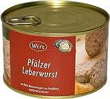 Hausmacher Dosenwurst Pfälzer Leberwurst fein 400g MHD:2/20