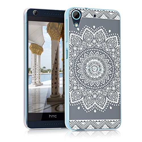 kwmobile HTC Desire 626G Hülle - Handyhülle für HTC Desire 626G - Handy Case in Weiß Transparent