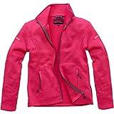 Coastline Strick Fleece Jacke Damen Übergangsjacke Pullover mit Reißverschluss