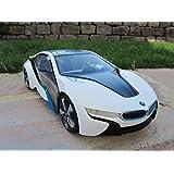 """'RC BMW i840MHz Color Blanco Modelo de licencia 33cm 1: 14Top calidad """""""