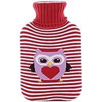 Wärmflaschen, Naturkautschuk und weicher Strickschutz aus Baumwolle, um warm und bequem zu bleiben (Farbe : A) preisvergleich bei billige-tabletten.eu