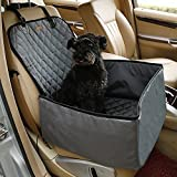 Best Dog Car Seats Covers - Petcomer Pet Bucket Seat Cover Booster Seat 2 Review