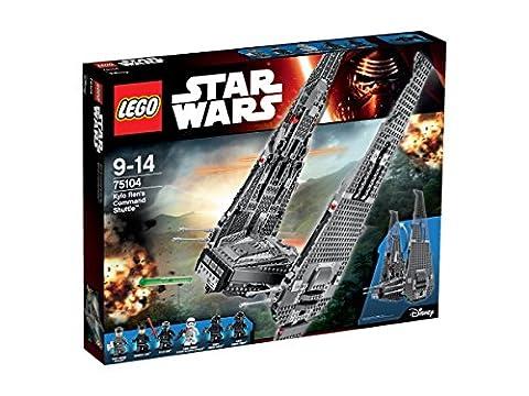 LEGO - 75104 - Star Wars - Jeu de Construction - Kylo Ren's Command Shuttle
