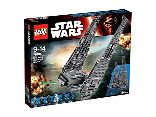 LEGO-75104-Star-Wars-Kylo-Rens-Command-Shuttle-Multi-Coloured