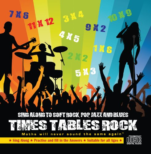 Times Tables Rock Audio CD. Math...