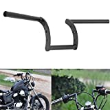 Alamor 7/8inch Handle Z-Bar Metal Drag Strip Handlebar Universal For Motorcycle Scooter