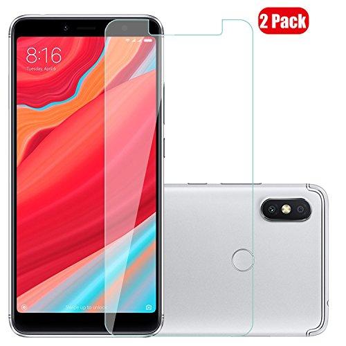 Voviqi Xiaomi Redmi S2 Panzerglas, 9H verbesserte gehärtetes Glas Folie [Blasenfrei] [Anti-Fingerabdruck] Bildschirmschutzfolie für Xiaomi Redmi S2, 2 Stück