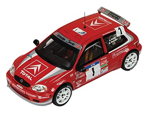 Voiture Rallye Citroen 1 43 - Ixo - Ram226 - Véhicule Miniature -