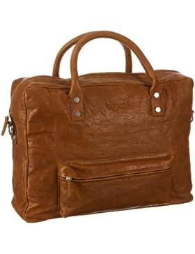 Bugatti Go West Business-Tasche, Querformat medium 49530907, Unisex-Erwachsene Messengertaschen 43x32x13 cm (B...