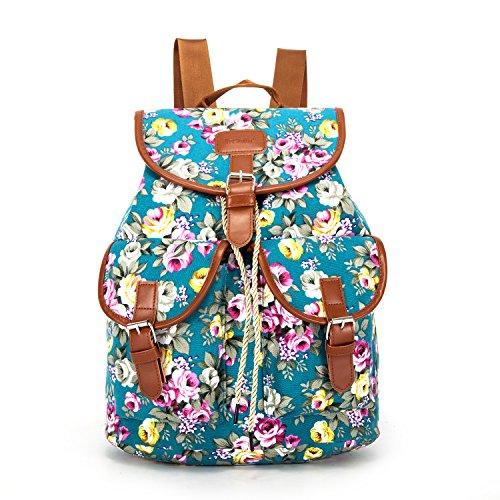 canvas-vintage-print-rucksacks-large-size-flowers-birds-fish-polka-dot-floral-yrd001-blue