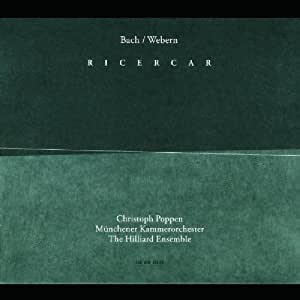 Bach / Webern - Ricercar ( arr. de Webern d'oeuvres de Bach )