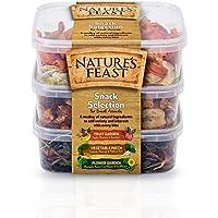 Natures Feast - Kit de aperitivos para animales pequeños
