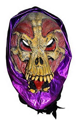 Halloweenia - Kostüm Accessoires Zubehör Latex Maske Horror Zombie Alien Predator , perfekt für Halloween Karneval und Fasching, ()