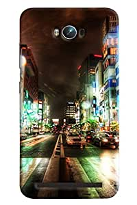 Clarks Traffic City Hard Plastic Printed Back Cover/Case For Asus Zenfone Max