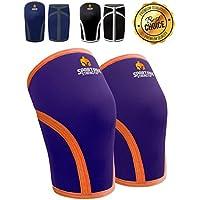 Knie Ärmel spartanisch, Stärke (Paar) * Unterstützung & Kompression für Gewichtheben, Powerlifting & Kniebeugen... preisvergleich bei billige-tabletten.eu