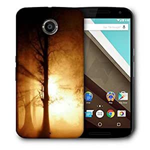 Snoogg Focus Sunlight On Trees Printed Protective Phone Back Case Cover For LG Google Nexus 6