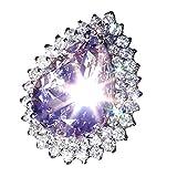 Bague antique de fiançailles avec des diamants naturels rubis naturels pour femmes éblouissantes