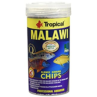 Tropical Malawi Mbuna Chips Special for Malawi slowly sinking - Multi-ingredient food for daily feeding 250ml/130g 17