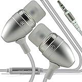 Huawei Nova Plus (PLATA) RIVERO manos libres estéreo con cable auriculares manos libres auriculares con micrófono En del botón y conector de 3,5 mm earphone