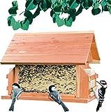 Perky-Pet Mangiatoia per Uccelli Stile Loggia in Legno di Cedro / 50153
