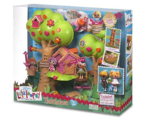 Imagen 5 de Zapf Creation 506775E4C - Mini Lalaloopsy, Casa del árbol (plástico)