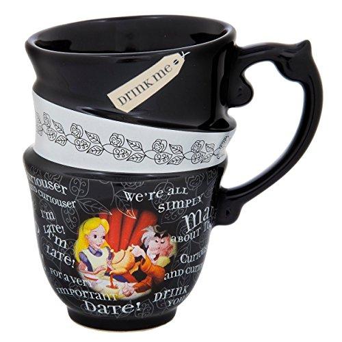 Disney Parks: Alice au pays des merveilles Citation 340,2gram Tasse en céramique