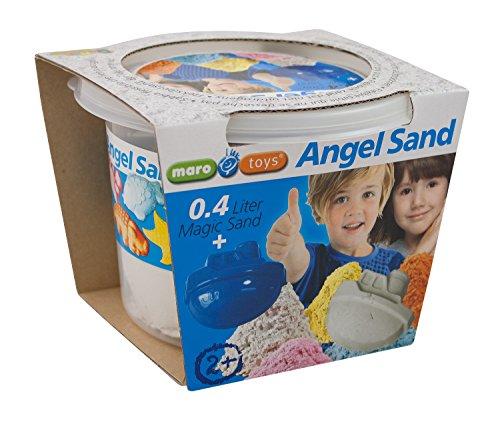 Maro Toys 65211 - Angel Sand - einzeln, BAU- und Konstruktionsspielzeug, Natur, 0.4 l