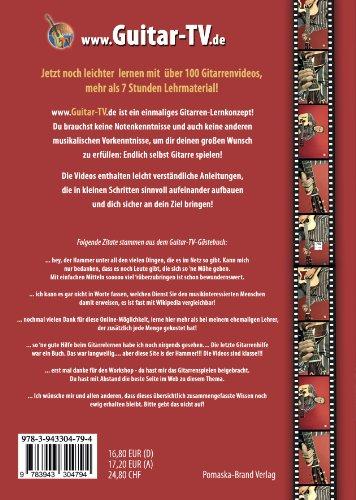 Guitar-TV: Gitarrenschule ohne Noten: Das Gitarrenbuch mit 2 DVDs – So kann jeder Gitarre lernen! - 2