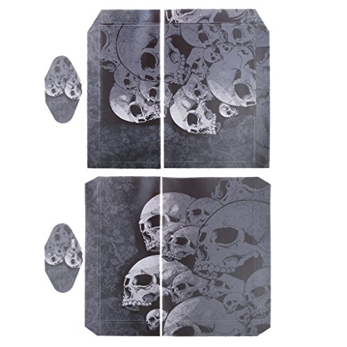 generic-adesivo-skin-per-ps4-playstation-4-set-console-controllore-decalcomania-testa-del-cranio