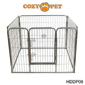 cozy pet parc pour chiot robuste cage de chien 3. Black Bedroom Furniture Sets. Home Design Ideas