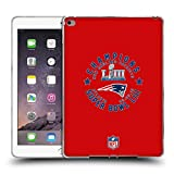 Head Case Designs Offizielle NFL New England Patriots 4 2019 Super Bowl LIII Champions Soft Gel Hülle für iPad Air 2 (2014)