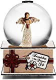 Modeles by Pavilion Gift 100mm Musical Water Globe, Saying-Friendship is the Greatest Gift, 6-Inch by Modeles by Pavilion