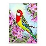 Danigrefinb Eagle Parrot Cheval partielle Foret diamant Peinture Home Broderie point...