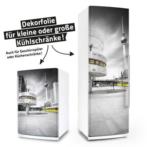 Kühlschrank- & Geschirrspüler-Folie --- Einfach Berlin! --- Dekorfolie Aufkleber Klebefolie Front