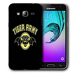 Snoogg Tiger Army Designer Protective Back Case Cover For SAMSUNG GALAXY J3/J3 2016 J310
