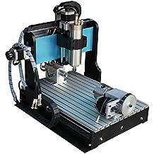 GOWE 110 V/220 V 4 44 Axis 800 W 1, 5kw VFD fresadora CNC de puertas de uPVC con eje con ovillo de tornillo mejora de modelos fresadora CNC de grabado