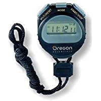 Oregon Scientific Digital Sports Stopwatch - Black