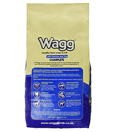 Wagg Complete Dog Food with Chicken and Vegetables, 2.5kg 3