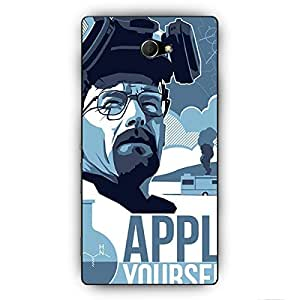EYP Breaking Bad Heisenberg Back Cover Case for Sony Xperia M2 Dual