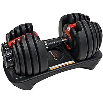 Bowflex Adultos selec ttech 552i Pesas Sistema Único Pesas, Color Negro, Talla única