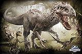 "GB eye 61 x 91.5 cm""Raptors"" Jurassic World Maxi Poster, Multi-Colour"